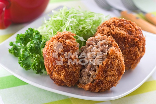 Fried Cake of Minced Meat