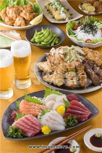 Izakaya dishes