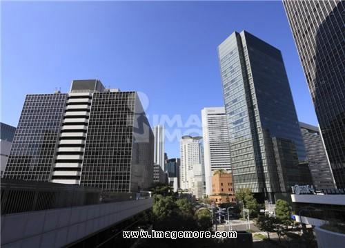 Skyscraper of Umeda, Osaka, Osaka, Japan