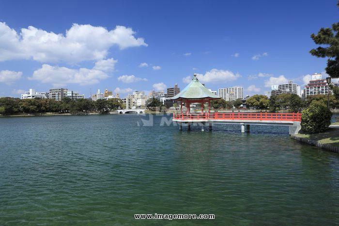 Ohori Park, Fukuoka, Fukuoka, Japan