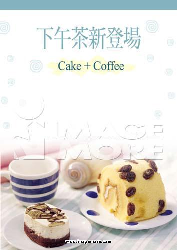 海报,菜单,蛋糕,咖啡