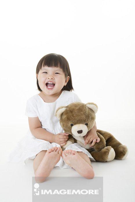 外国小孩可爱大笑图片