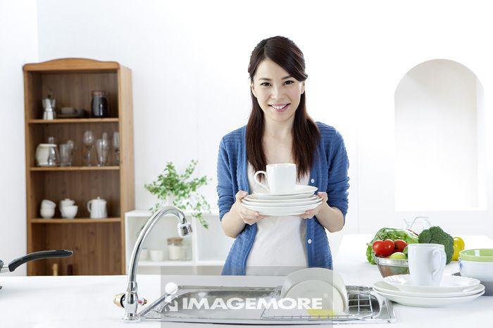 女性,厨房