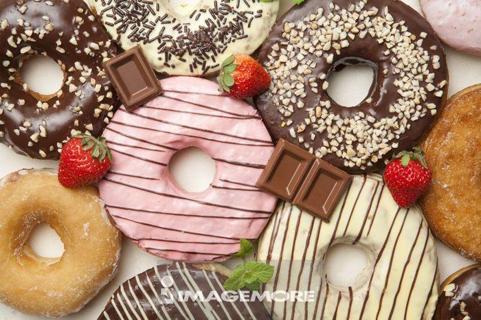 食物,甜甜圈