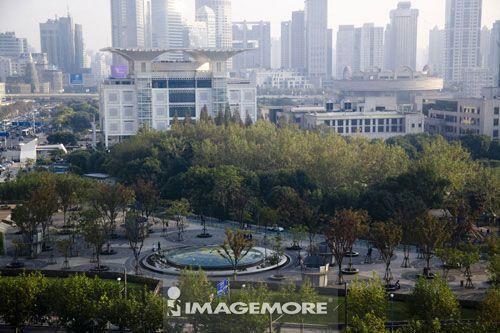 中国,上海,人民广场,上海城市规划馆,上海博物馆