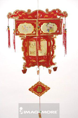 纸灯笼,,福字