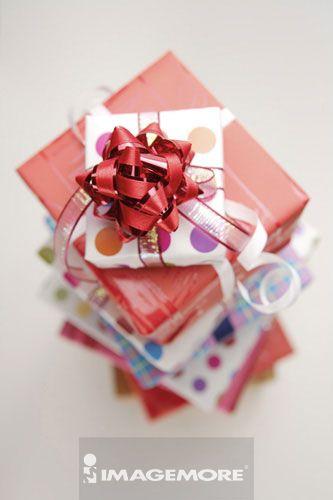 礼物,,缎带,螺旋状,,螺旋