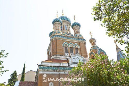 法国,尼斯,俄罗斯东正教大教堂,