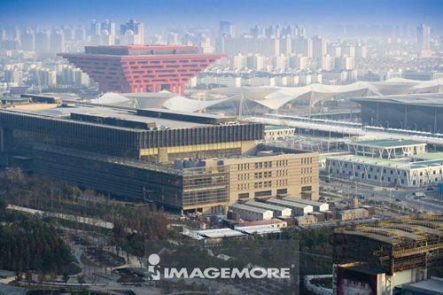 中国,上海,世博园区,中国馆,世博轴,上海世界博览会,
