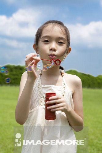 女孩,亚洲人物