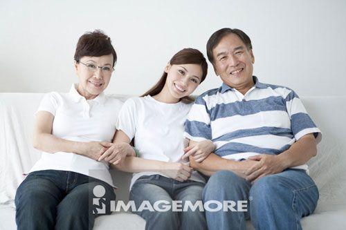 二代家庭,全家福