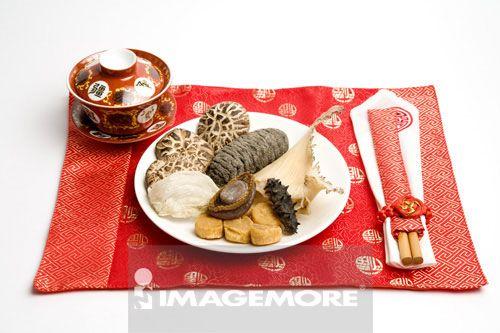 鲍鱼,刺参,海参,干贝,香菇,鱼翅,燕窝,南北干货,