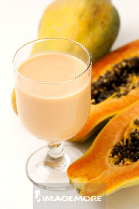 木瓜牛奶,饮料,