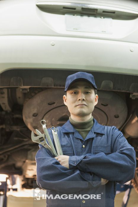修车厂,技术人员,修车店