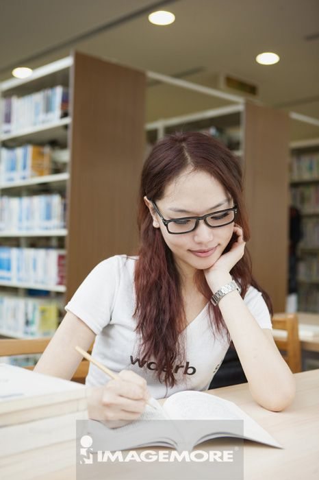 阅读,图书馆