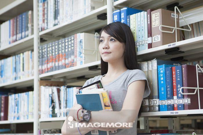 学习,图书馆
