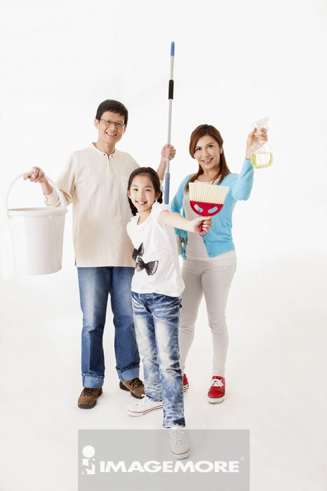 打扫,二代家庭