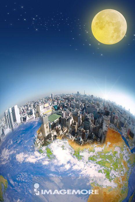中秋节,月亮,地球,