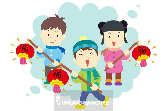 团圆,元宵节,新年,春节,