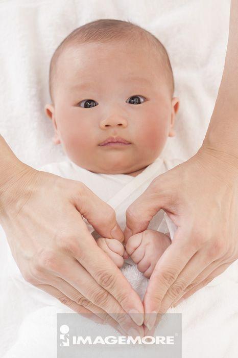 可爱婴儿手头像