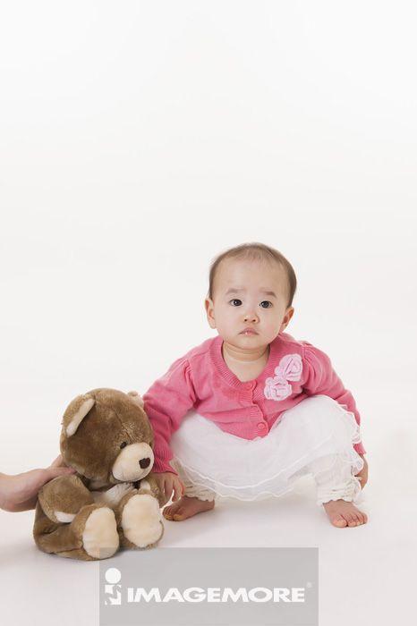 新生儿,特写,赤脚,婴儿,女婴儿,只有一个女婴儿,11-12个月,纯真,可爱