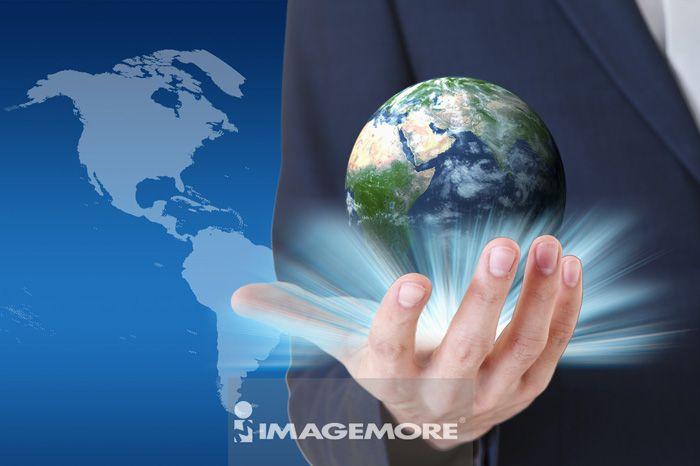 全球商业,数码合成