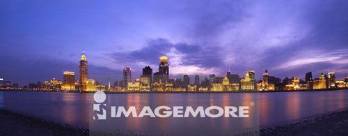 中国,上海,黄浦江,万国建筑博览群