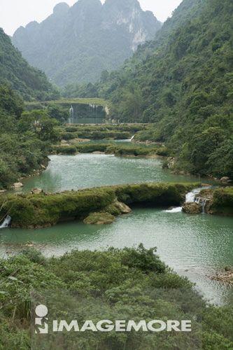 沙屯迭瀑,广西省,中国,
