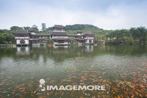 青秀山公园,广西省,中国,