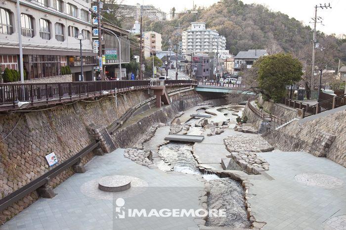 有马川亲水公园,有马温泉,神户市,兵库县,日本,亚洲