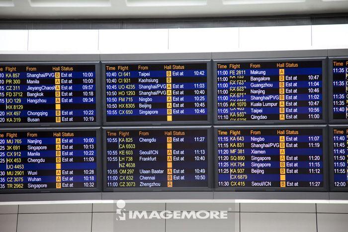 亚洲,香港,新界,赤鱲角,交通,时刻表,飞机场