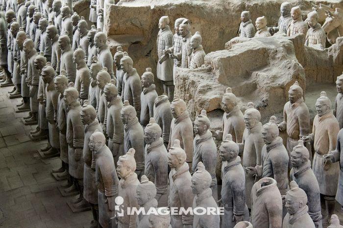 陕西省,中国,亚洲,西安临潼,兵马俑