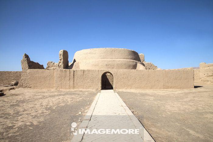 高昌故城遗址,吐鲁番,新疆自治区,中国,亚洲,古迹,