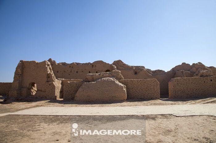 高昌故城遗址,吐鲁番,新疆自治区,中国,亚洲,古迹,城墙,
