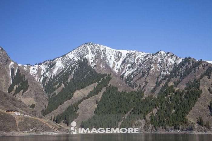天山,天池,新疆自治区,中国,亚洲,山脉,