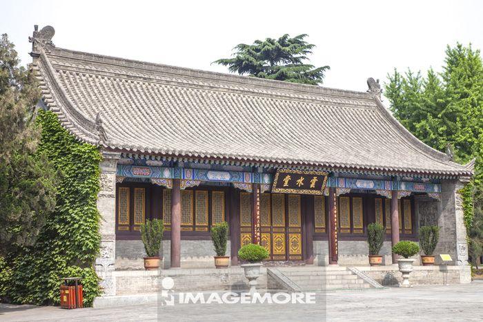 云水堂,大慈恩寺,西安,陕西省,中国,亚洲,