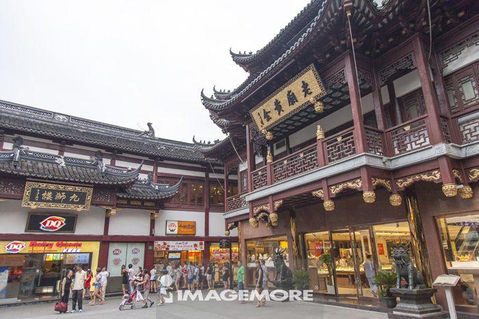 上海,中国,亚洲,豫园,中式建筑,