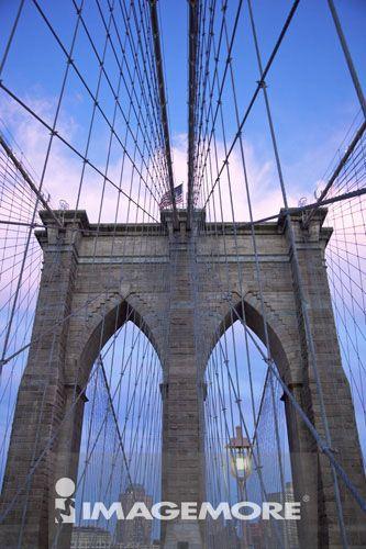 布鲁克林桥,曼哈顿,纽约市,纽约州,美国,北美洲,