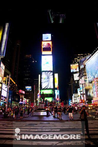 时代广场,曼哈顿,纽约市,纽约州,美国,北美洲,