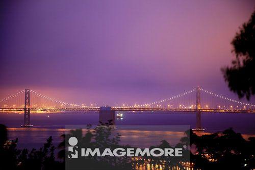 港湾大桥,旧金山,加州,美国,北美洲