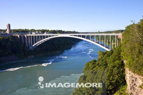 桥梁,尼加拉瀑布,纽约州,美国,北美洲