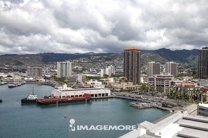 夏威夷,美国,大洋洲,,欧胡岛,港口,