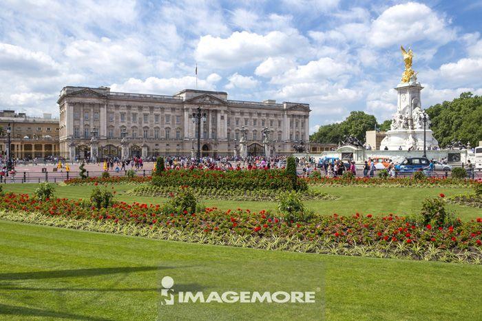 白金汉宫,伦敦,英国,欧洲,