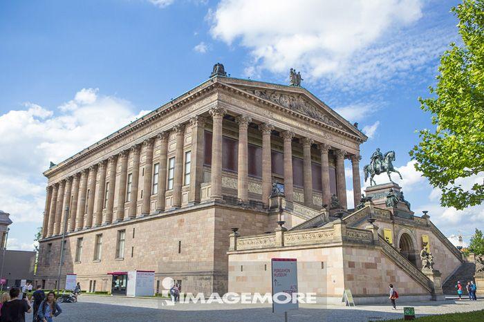 博物馆岛,旧画廊,柏林,德国,欧洲,