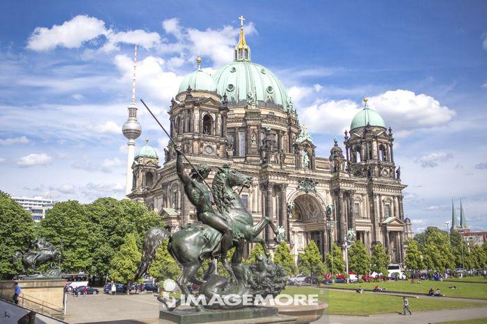 柏林主教座堂,柏林,德国,欧洲,