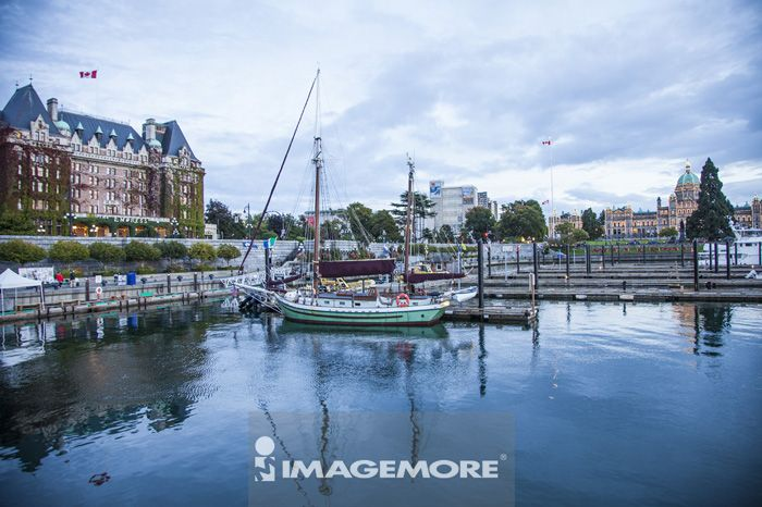 港口,维多利亚岛,温哥华,加拿大,