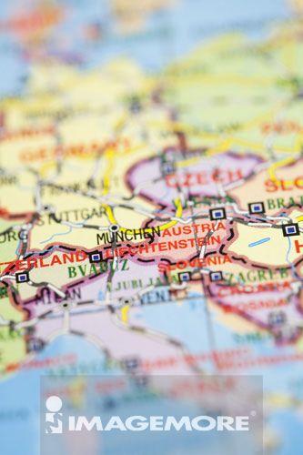 世界地图,欧洲 高清图