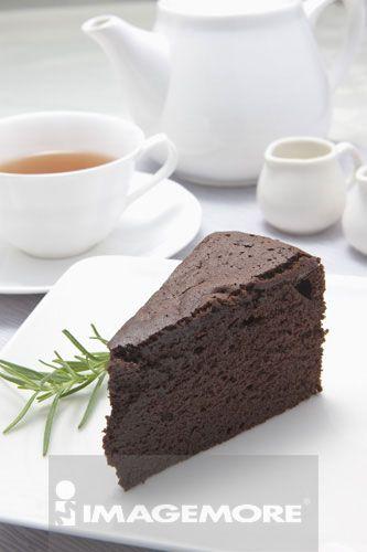 无糖重巧克力蛋糕,蛋糕,甜点,