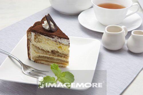 提拉米苏,蛋糕,甜点,