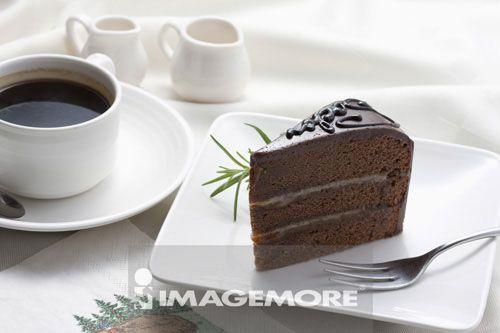 巧克力蛋糕,蛋糕,甜点,